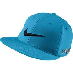 b812913c303 Nike GOLF FLAT BILL TOUR CAP new logo - Vivid Blue Black