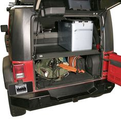 Tuffy Security Deck Enclosure for 2007+ Jeep Wrangler JK