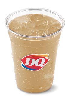 Salted Caramel Iced Coffee #icedcoffee #longislanddq #DairyQueen