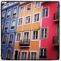 a colourful world - Lisbon, Portugal