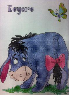 Eeyore Cross Stitch by JustinReneeDesigns on Etsy