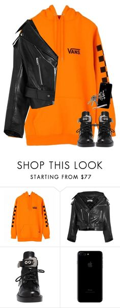 """bet your boyfriend wants me"" by nikkischeper ❤ liked on Polyvore featuring Vans and Balenciaga"