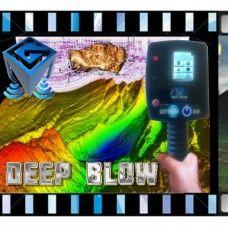 DEEP BLOW Discriminative Magnetometer 3d taranan alandaki düzensizlikleri tespit edebilen bir elektromanyetik impuls tarama şeklini esas almaktadir. Örnekler arasinda tooprakaltı su havzaları, mağaralar ve fay hatları gibi natural oluşumları yada boru hatları, yeraltı odaları, sandıklar ve benzeri anomalileri sayabiliriz. İki metreye inen bir magnotometre ile beraber on sekiz metre derinliğe kadar yeraltında bulunan kütlelerin yerinin tespit edilmesini sağlayan bir em radara sahiptir