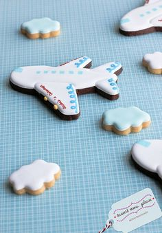 Air Planes and cloud cookies