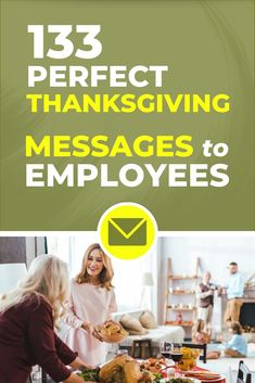 133 Perfect Thanksgiving Messages to Employees