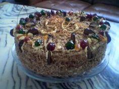 """Tort grylażowy: Smak tego staroświeckiego tortu zawdzięczam przepisowi, który podała w \""""Smakach... Nigella Lawson, Cookie Monster, Catering, Pudding, Cakes, Food, Catering Business, Cake Makers, Gastronomia"""