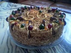 """Tort grylażowy: Smak tego staroświeckiego tortu zawdzięczam przepisowi, który podała w \""""Smakach..."""