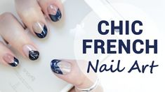 Deep & Chic French Nails for Short Nails
