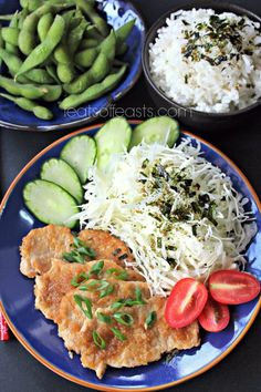 Pork Shogayaki and Donburi | Feats of Feasts | A Food Blog