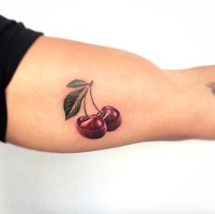Stunning pair of cherries by Bryan Gutierrez