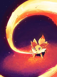 Fennekin, the generation 6 fire starter.