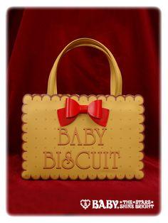 Baby, the Stars Shine Bright: Wonder Pocket Biscuit Bag in beige