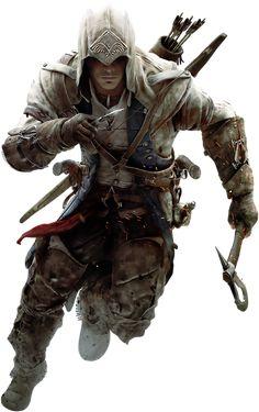 Assassin's Creed III - Connor Kenway 2 by IvanCEs.deviantart.com on @DeviantArt