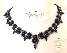 Beading Kit: Inocencia  Beads Only Necklace in by EnvyBeadwork