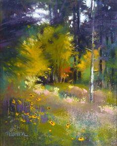 """""""Study for Last Light"""" - Original Fine Art for Sale - © Barbara Benedetti Newton"""
