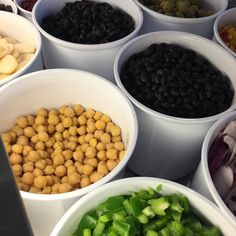 Top Notch Salad Bar in Boston!  Lettuce inspire you with our health-conscience #WickedFresh Lunch Creations! www.sebastians.com/challenge