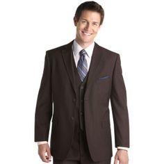 Kenneth Cole Brown Slim-Fit Suit   Wedding tings   Pinterest ...