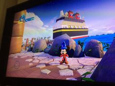 Disney Infinity 3.0 Hidden Toy Box Disney Dream Cruise Ship and Castaway Cay Island accessible with this kind of Magic Band...