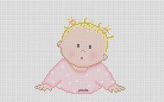 Bom dia com muita alegria!!! Amadas me desculpem por públicar novamente os bebês da Pri... é que quero deixar bem certinho para voces copiar...