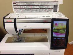 Janome Memory Craft Horizon MC12000 Professional Embroidery, Sewing