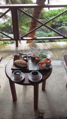 Hotel Nueva Vida de Romiro in Tulum, Mexico- A delicious breakfast from their restaurant Casa Banana