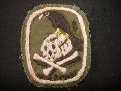 NEVER MORE,Hand embroidered Vietnam War patch