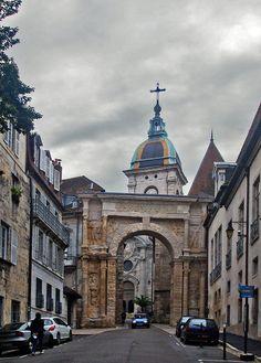 la Porte Noire, Besançon, Doubs_ France
