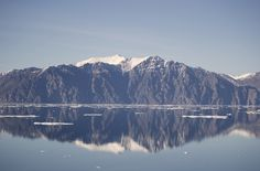 Bylot Island viewed from Pond Inlet. Pond, Canada, Island, Mountains, Nature, Travel, Block Island, Water Pond, Naturaleza