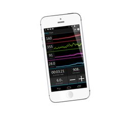 tacx.com - Smartphone (iOS/Android)  The Tacx Training app makes it possible to train with a smartphone. Smart trainer and Bushido for tablet riders with a smartphone can now train by using this free app. It allows you to train freely based on slope, power or heart rate. The trainer measures and calculates your performance data (power, speed, cadence and heart rate) very accurately, which is shown by your smartphone in the App.