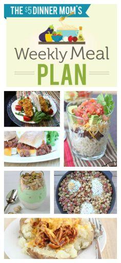 Free Weekly Meal Plan with Printable List for week of 5/11 | 5DollarDinners.com