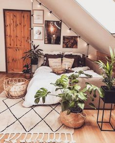 : Awesome Bohemian Bedroom Designs and Decor, Awesome bedroom Bohemian Decor Designs Sch. Awesome Bohemian Bedroom Designs and Decor, Awesome bedroom Bohemian Decor Designs awesome Bedroom bohemian decor designs firsthomedecor homedecorpainting Room Ideas Bedroom, Home Bedroom, Modern Bedroom, Bedroom Furniture, Furniture Layout, Modern Bohemian Bedrooms, Loft Bedroom Decor, Low Ceiling Bedroom, Attic Bedroom Designs