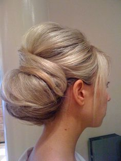 Other side of Jamie's wedding hair done by zemira kovacevic,