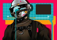 Twenty One Pilots, Daft Punk Poster, Thomas Bangalter, Tecno, Edm Music, Winx Club, Music Artists, Character Art, Pop Culture