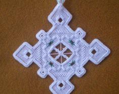 Noruego Hardanger Holiday Ornament
