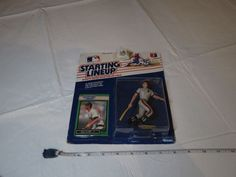 1989 edition Starting Lineup Will Clark 22 Giants figure collector card NOS MLB #Startinglineup