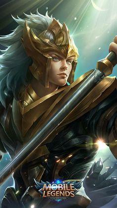 heroes wallpaper , game. mobile legends