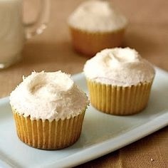 A recipe for Coconut & Pineapple Cupcakes from London's famous Hummingbird Bakery; high-altitude adjustments also available! #foodgawker