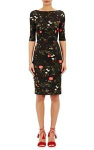 rewardStyle Erdem Kirsten Body-Con Dress-Multi Size 8 UK by: Erdem @Barneys New York (Global)