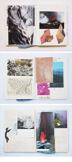 Elisa Vendramin's sketchbook.