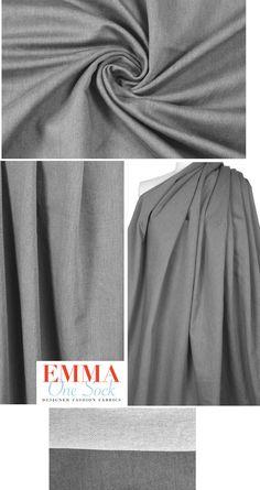 "NEW High Class Designer Stretch Spandex Cotton Denim Jersey Fabric Material 64/"""
