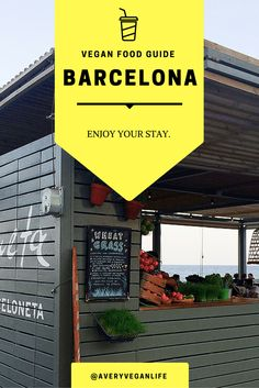 Vegan Food Guide / Barcelona: Enjoy your stay with vegan restaurants and good shopping facilities.