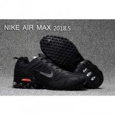 Mens Nike Air Max 2018.5 Running Shoes All Black II 1bedab31d