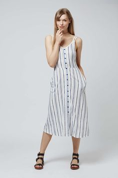 Striped Sundress - Dresses - Clothing - Topshop Europe