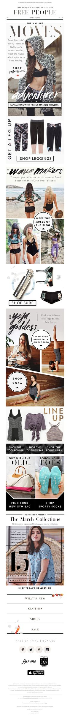 Free People - Find your new gym bag (and fill it up)