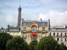 Eiffel Tower~view from Esplanade de Invalides.