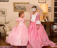 déguisement robe de princesse Marquise - Déguisement