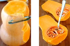 How to Peel, Seed and Cut Butternut Squash