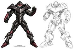 Power Armor for Serious Sports by *Mecha-Master on deviantART