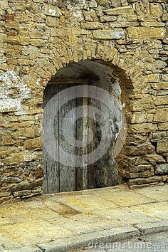 Photo about Old wooden door in small town. Image of grunge, history, background - 69479079 Old Wooden Doors, Architecture Details, Small Towns, Stock Photos, History, Home Decor, Old Wood Doors, Historia, Decoration Home