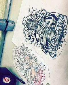 #budha #tattoo #ink #sketch